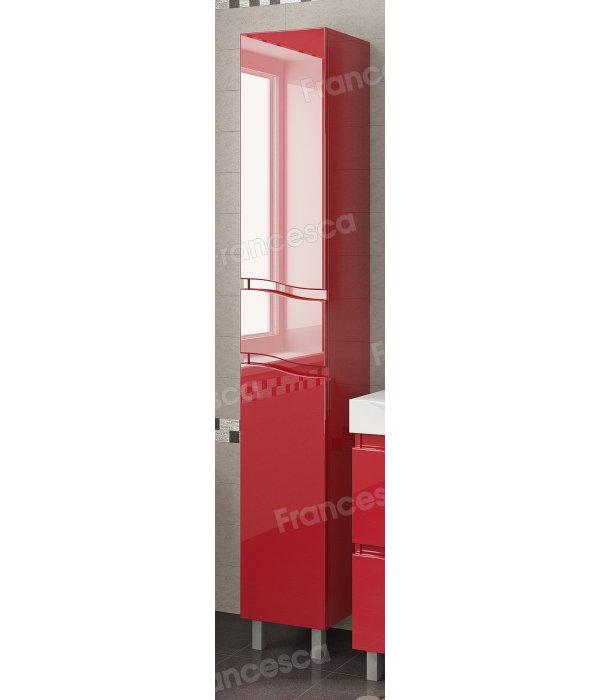 Пенал Francesca Forte 30 с бельевой корзиной, красный