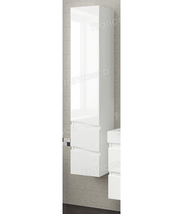 Пенал Francesca Forte 30 подвесной, белый