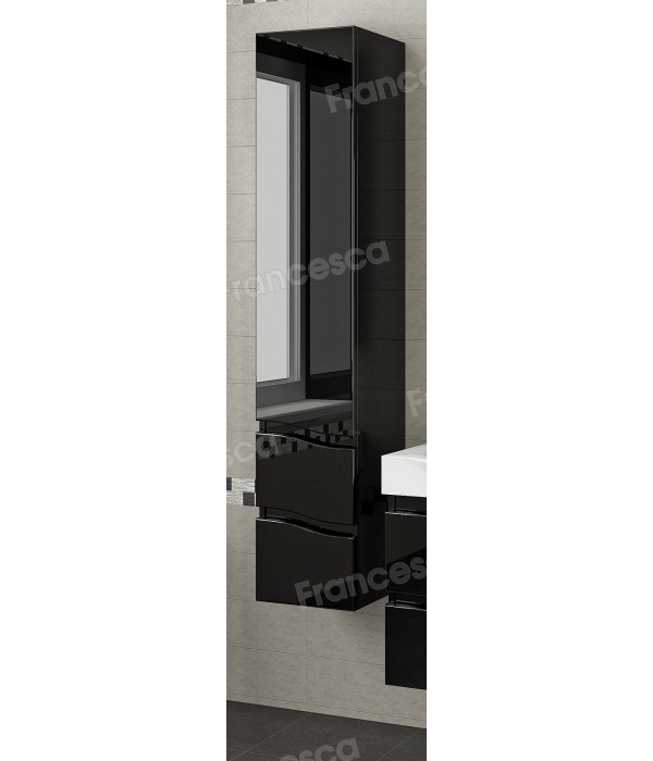 Пенал Francesca Forte 30 подвесной, черный