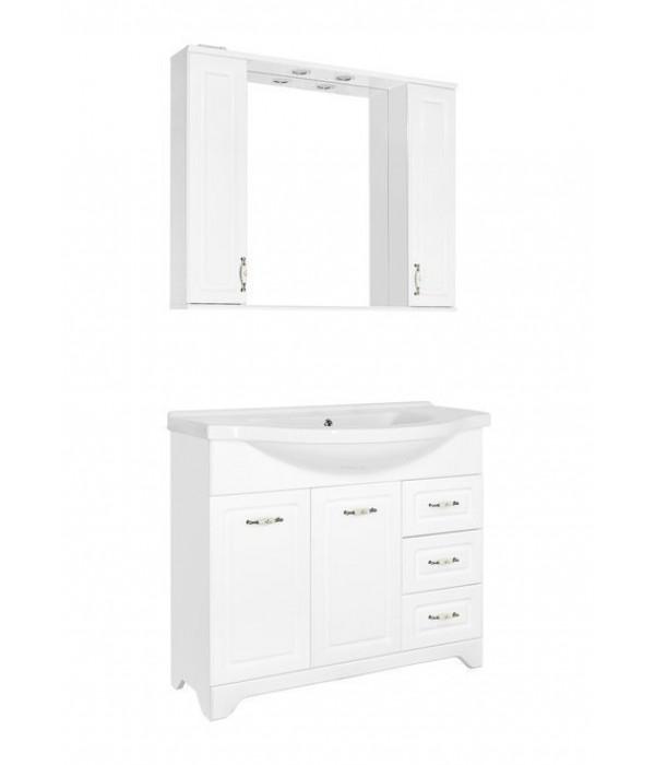 Комплект мебели Style Line Олеандр-2 100 Люкс, белый