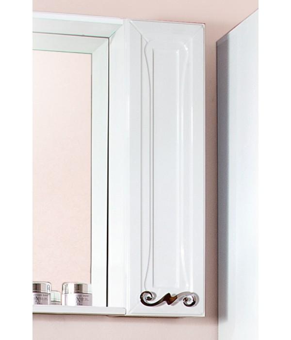Шкаф навесной Бриклаер Адель 20 белый глянец