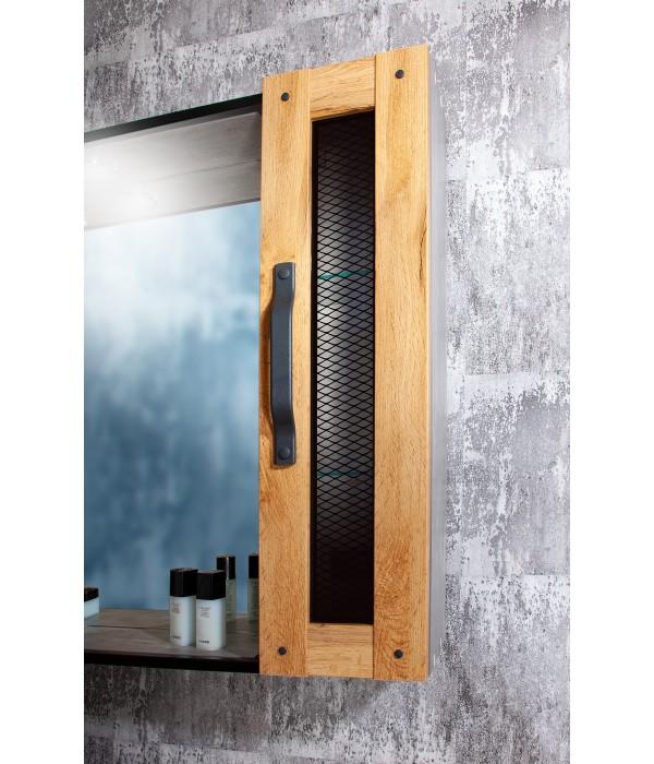 Шкаф навесной Бриклаер Лофт 20 Метрополитен грей