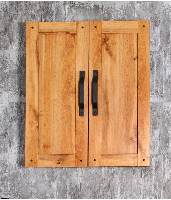 Шкаф навесной Бриклаер Лофт 60 Метрополитен грей