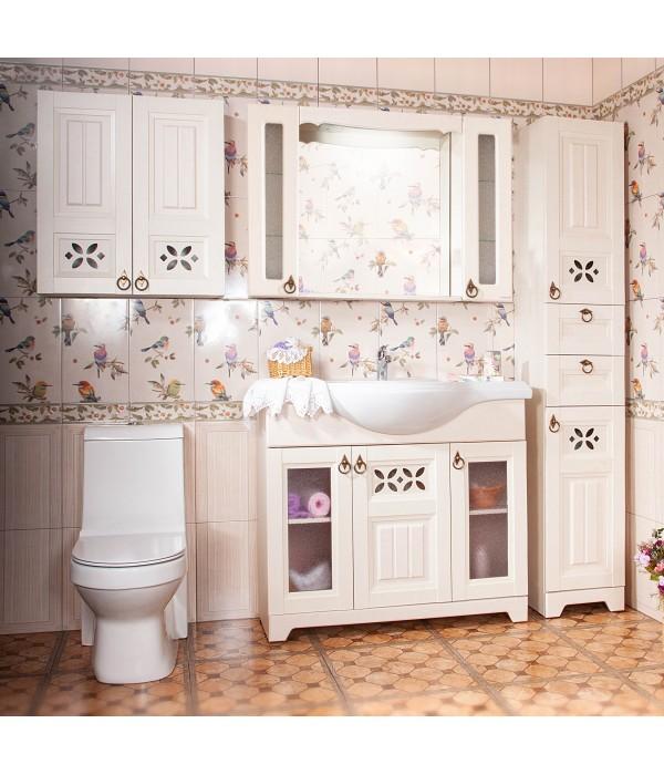 Комплект мебели Бриклаер Кантри 105 Бежевый дуб прованс