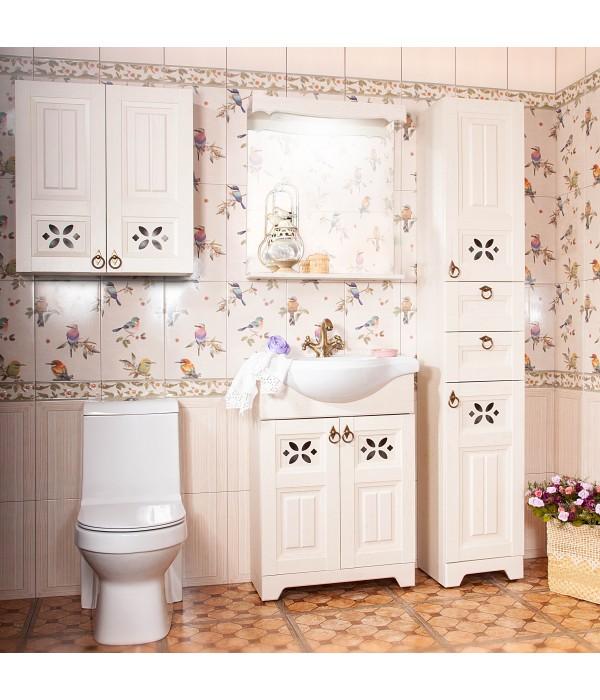 Комплект мебели Бриклаер Кантри 65 Бежевый дуб прованс