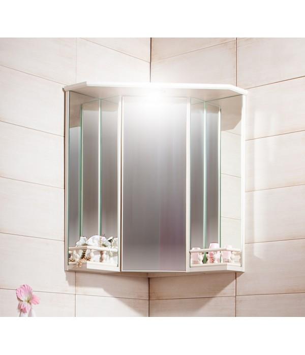 Зеркало-шкаф Бриклаер Кантри 60 угловой с балюстрадой