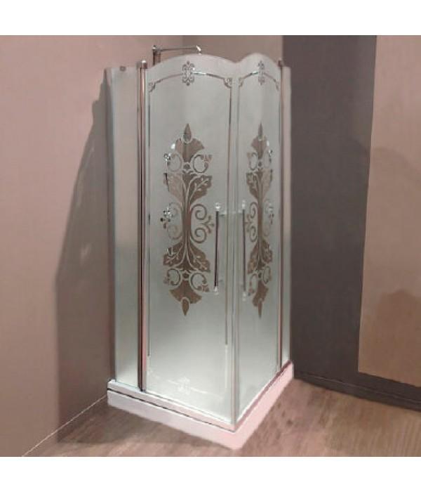 Душевой уголок Huppe Design victorian 90x90 Frozen Grace