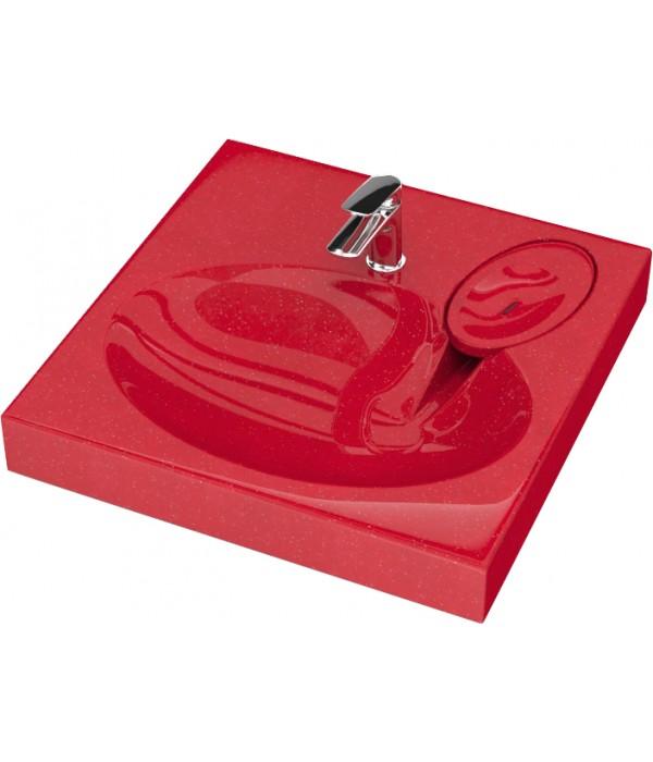 Раковина Paulmark Stern PM700334 красная