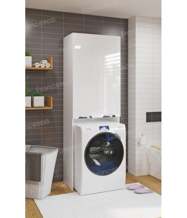 Шкаф над стиральной машиной Francesca Доминго 67 белый