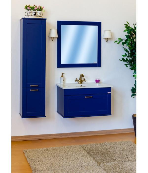 Комплект мебели Sanflor Ванесса 75 подвесная, индиго