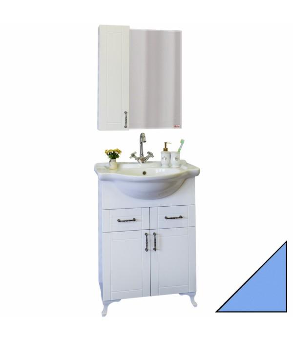 Комплект мебели Sanflor Глория 65 голубая