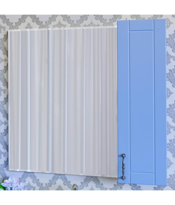 Зеркало-шкаф Sanflor Глория 65 R, голубой