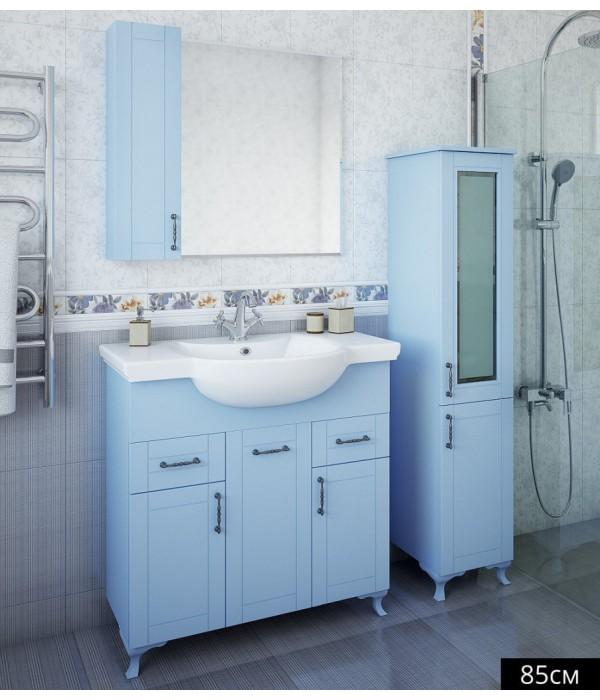 Комплект мебели Sanflor Глория 85 серый
