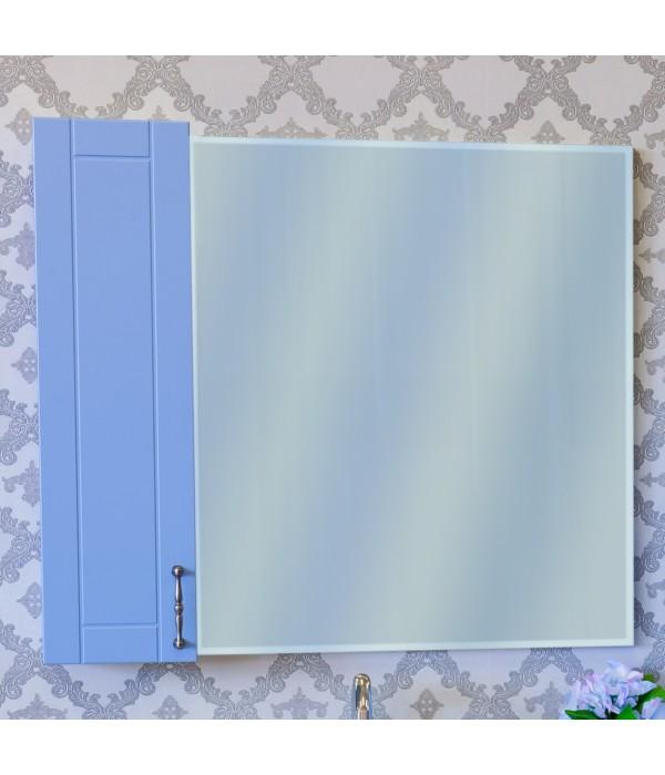 Зеркало-шкаф Sanflor Глория 85 голубой