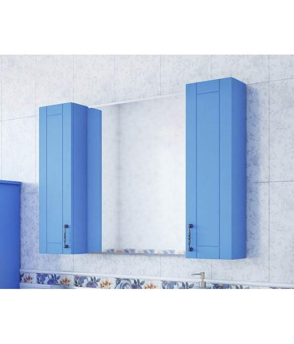 Зеркало-шкаф Sanflor Глория 105 голубой