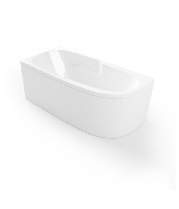 Акриловая ванна Mirsant Небуг 150х80 левая