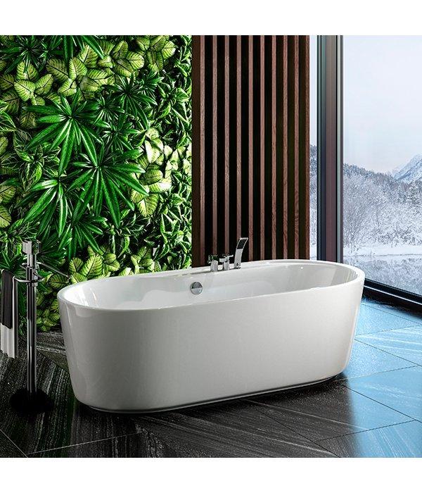 Акриловая ванна Sole Omega 180х85