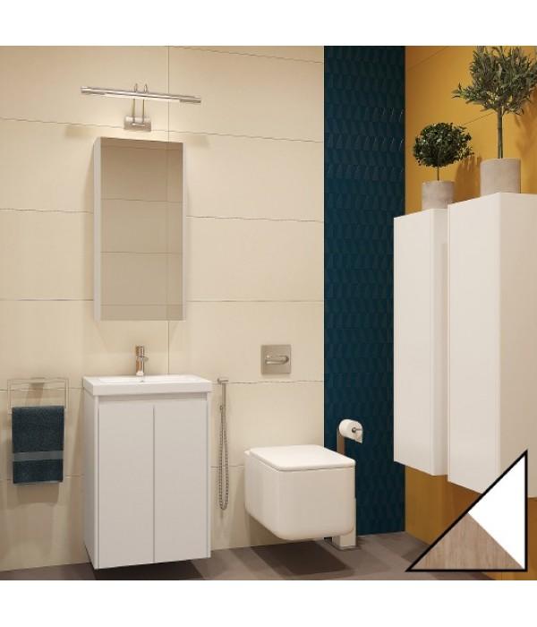 Комплект мебели Velvex Klaufs 50.2D белая, шатанэ, подвесная