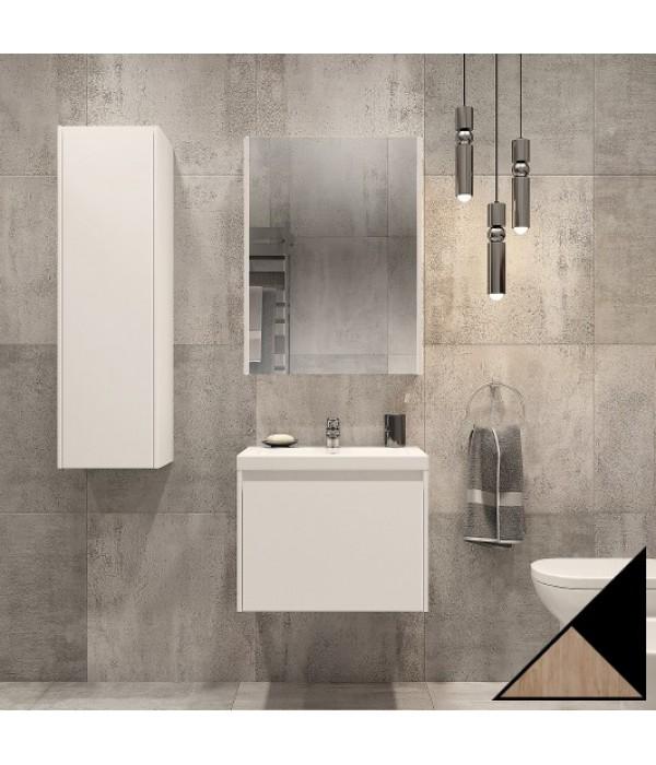 Комплект мебели Velvex Klaufs 60.1Y черная, шатанэ, подвесная