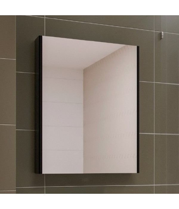 Зеркало-шкаф Velvex Klaufs 60 черное