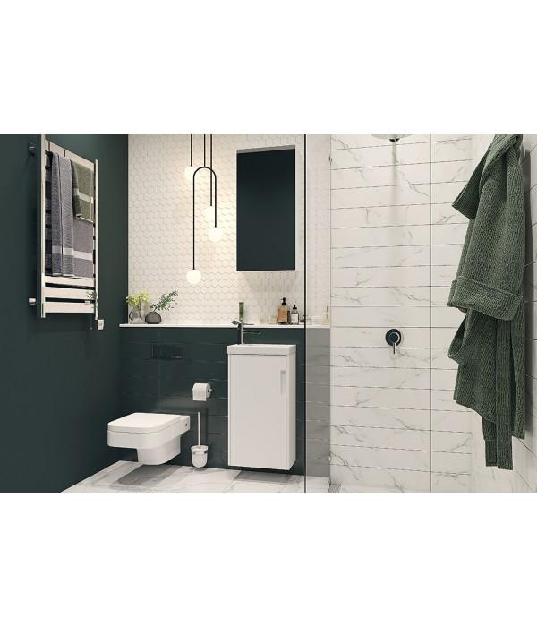 Комплект мебели Velvex Klaufs 40.1D белый глянец