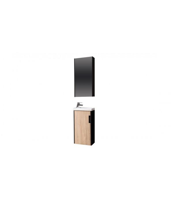 Комплект мебели Velvex Klaufs 40.1D черная, шатанэ