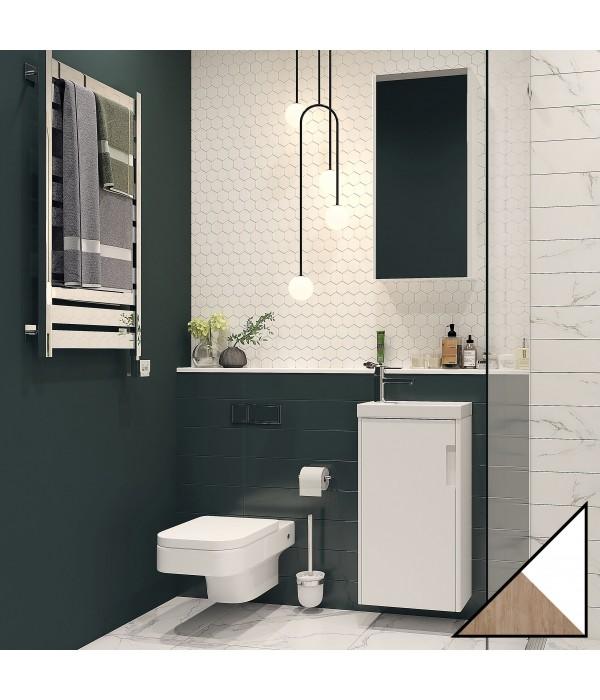 Комплект мебели Velvex Klaufs 40.1D белая, шатанэ