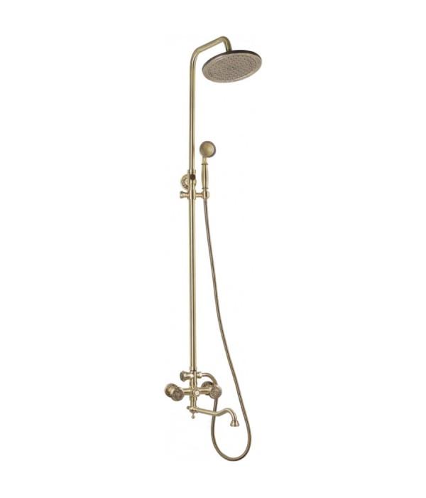 Душевая стойка Bronze de Luxe 10121DR