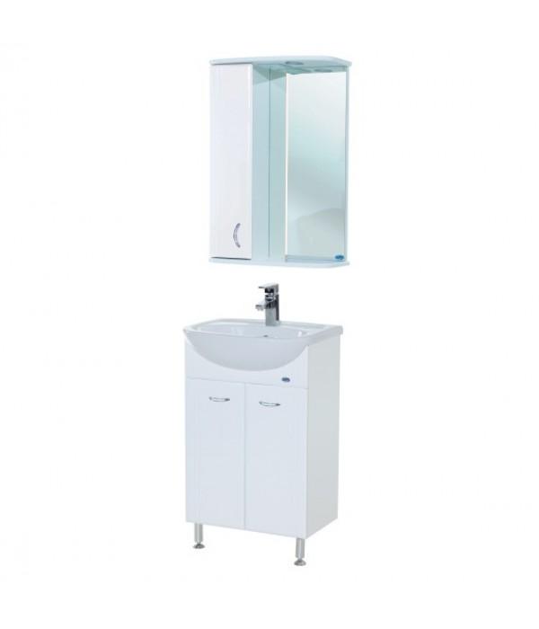 Комплект мебели Bellezza Уют 55 прямая, белый