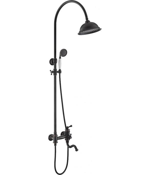 Душевая стойка Timo Adelia SX-6010/04 black antique