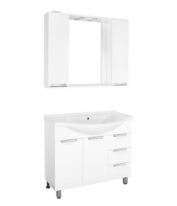 Комплект мебели Style Line Жасмин 100 белый