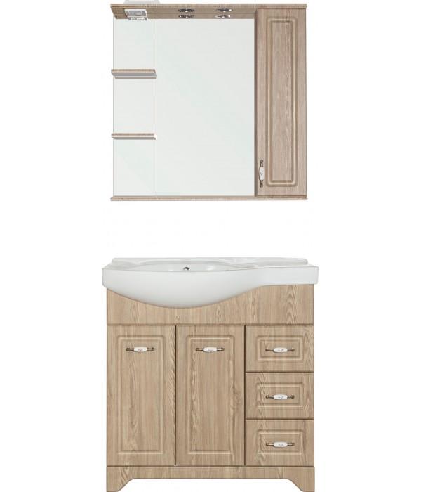 Комплект мебели Style Line Олеандр-2 82 R, напольная, люкс, карпатская ель