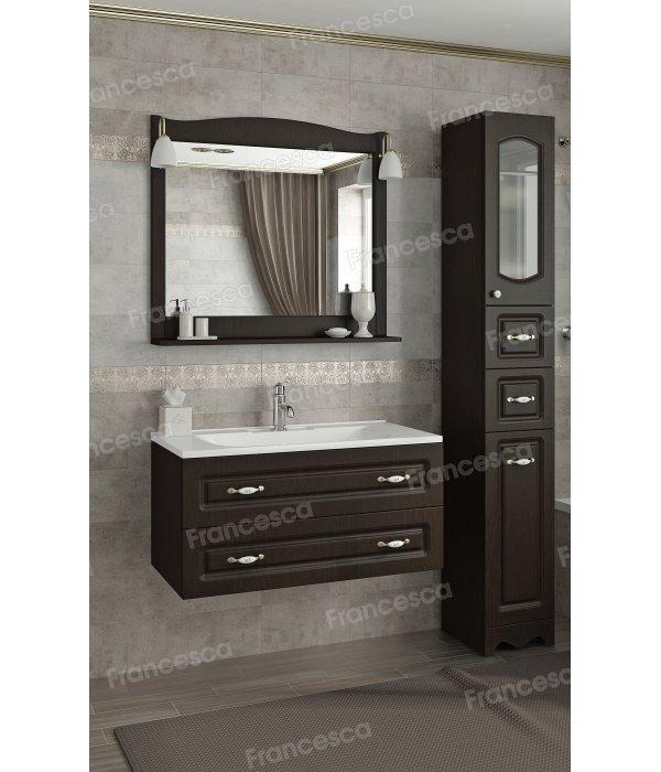 Комплект мебели Francesca Империя П 90 подвесной венге