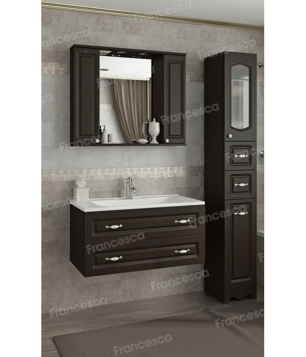 Комплект мебели Francesca Империя П 90-2 подвесной венге
