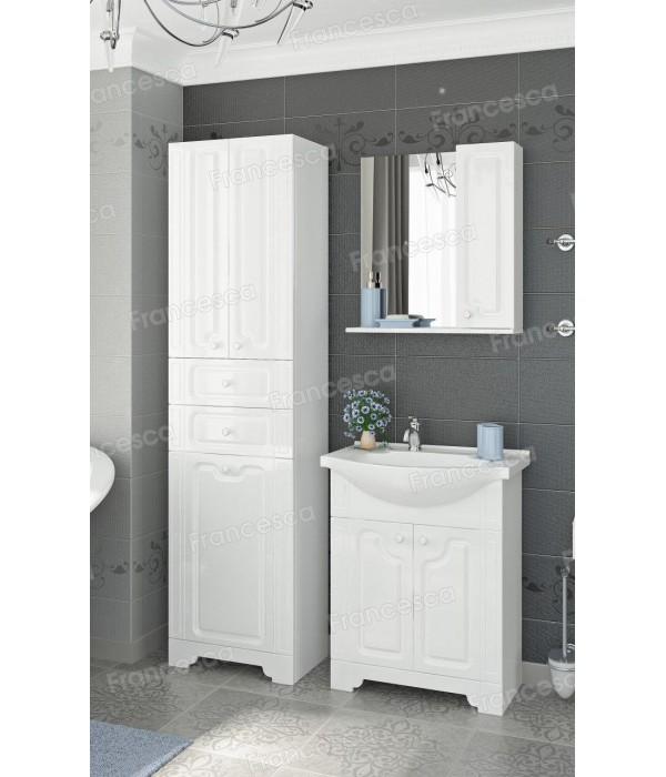 Комплект мебели  Francesca Verona 50 белый (2 дв., ум. Элеганс 50)