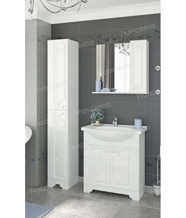 Комплект мебели  Francesca Verona 65 белый (2 дв., ум. Элеганс 65)