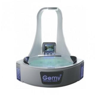 Акриловая ванна Gemy G9069 O с телевизором