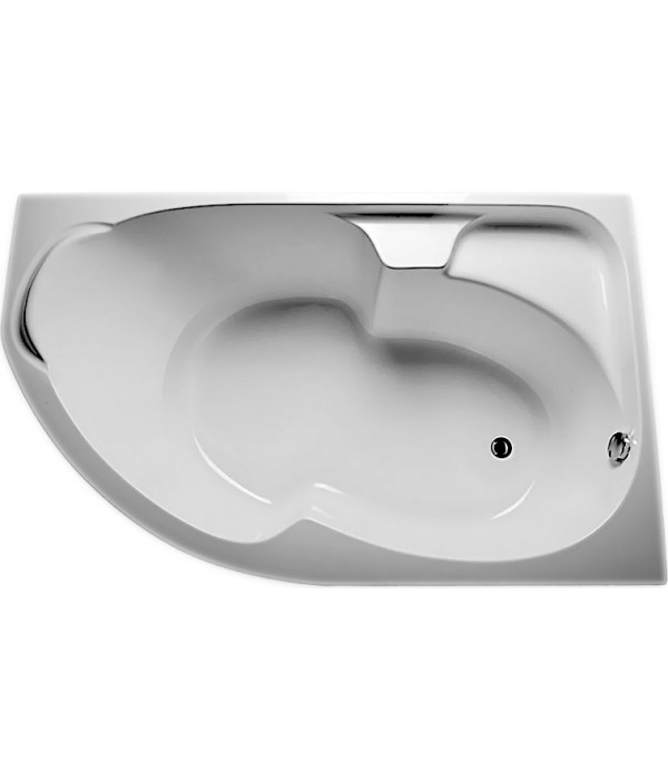 Акриловая ванна 1MarKa Diana R 170x105, с каркасом
