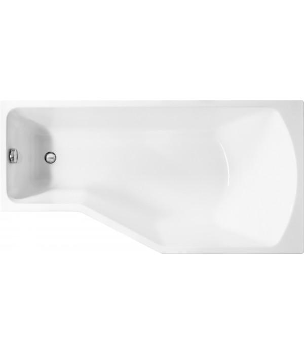 Акриловая ванна Marka One Convey R 150x75, с ножками