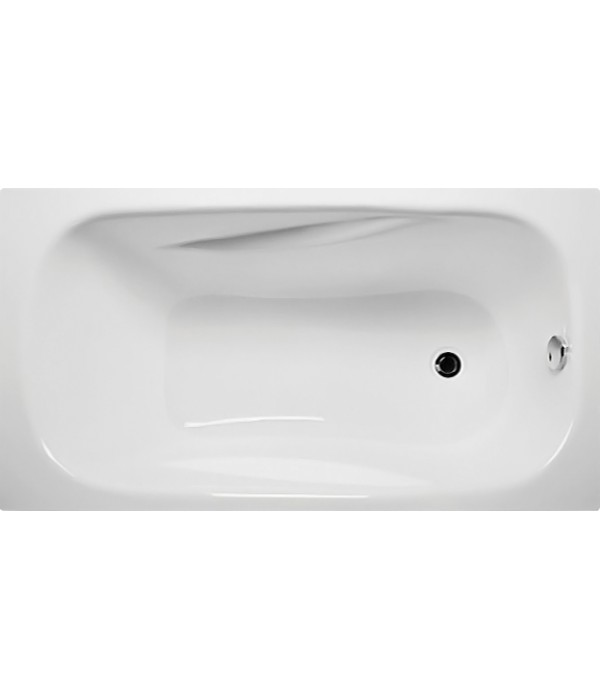 Акриловая ванна 1MarKa Classic 130х70, с каркасом