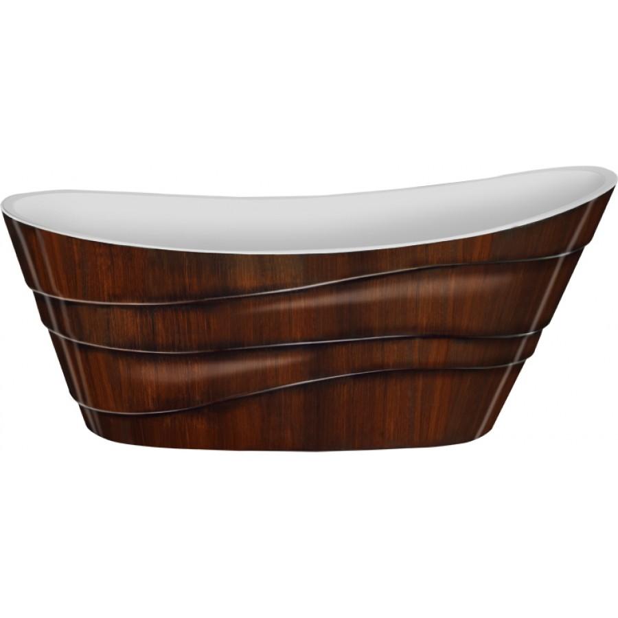 Акриловая ванна Lagard Alya Brown Wood