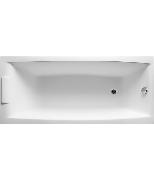 Акриловая ванна Marka One Aelita 170x75, с каркасом