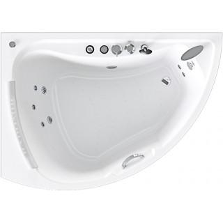 Акриловая ванна Radomir Альбена Релакс Chrome 168x120 левая