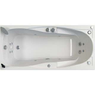Акриловая ванна Radomir Парма-дона Специальный Chrome 180x85 левая