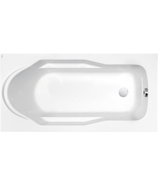 Акриловая ванна Cersanit Santana 150 ультра белый