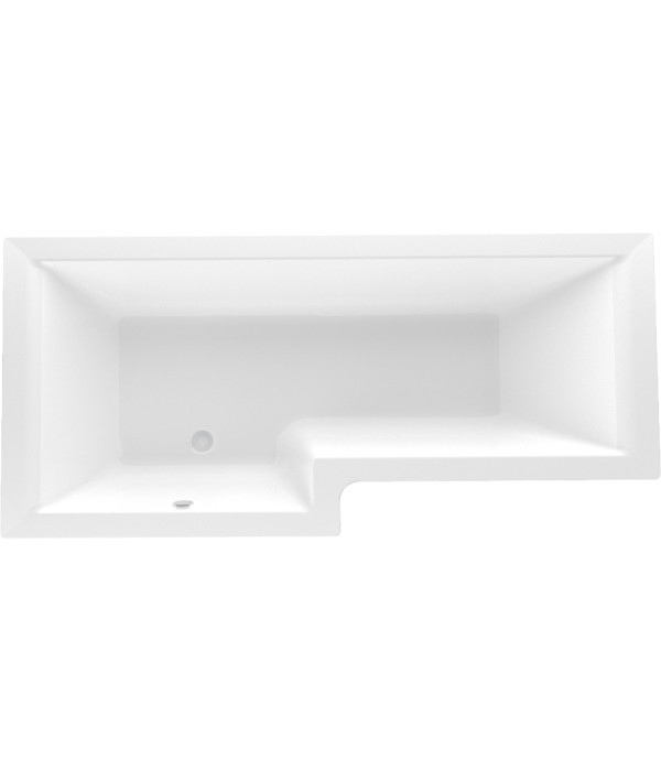 Акриловая ванна Marka One Linea 165x85 см L