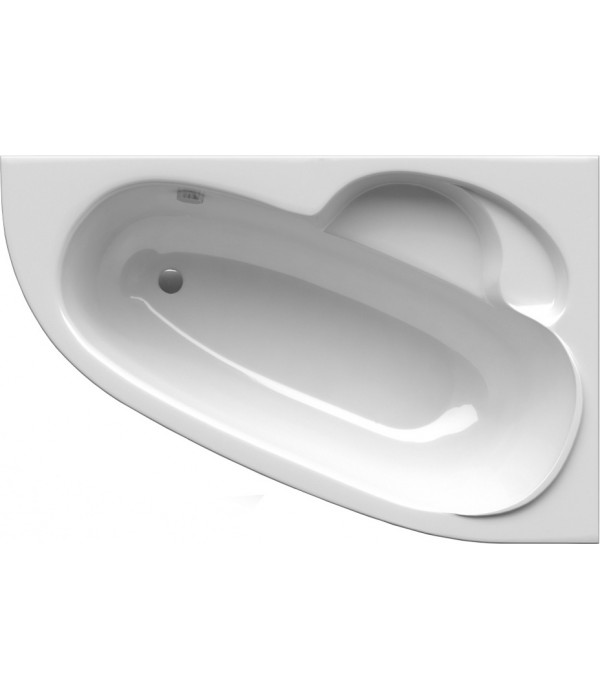 Акриловая ванна Alpen Terra 150x100 R