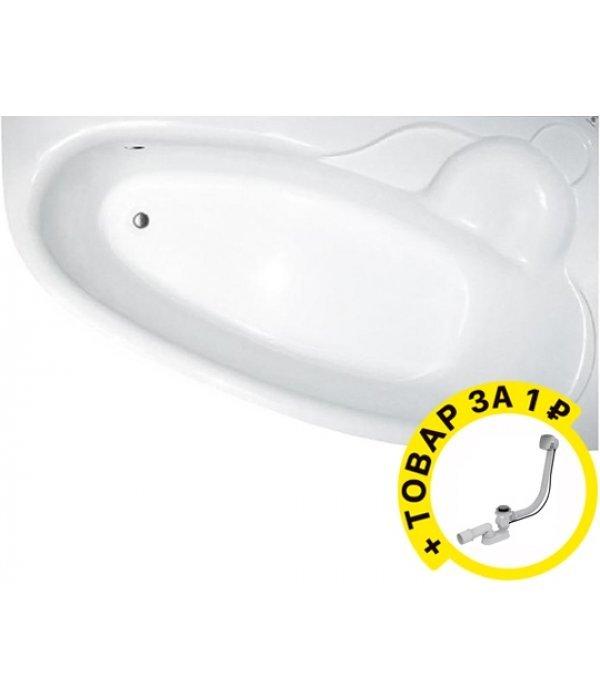Акриловая ванна Koller Pool Nadine 170x100 R + слив-перелив вподарок