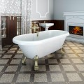 Акриловая ванна Radomir Леонесса 1 175x80 ножки бронза