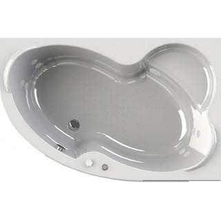 Акриловая ванна Radomir Wachter Ирма 2 R с гидромассажем и экраном, форсунки белые
